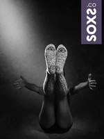 SOXS SOXS Woman mystical purple grey knee 37-41