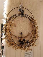 Ring + garland goud