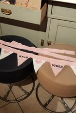 OPDEMAALZOLDER Slinger creme / roze Stoer Knap Lief