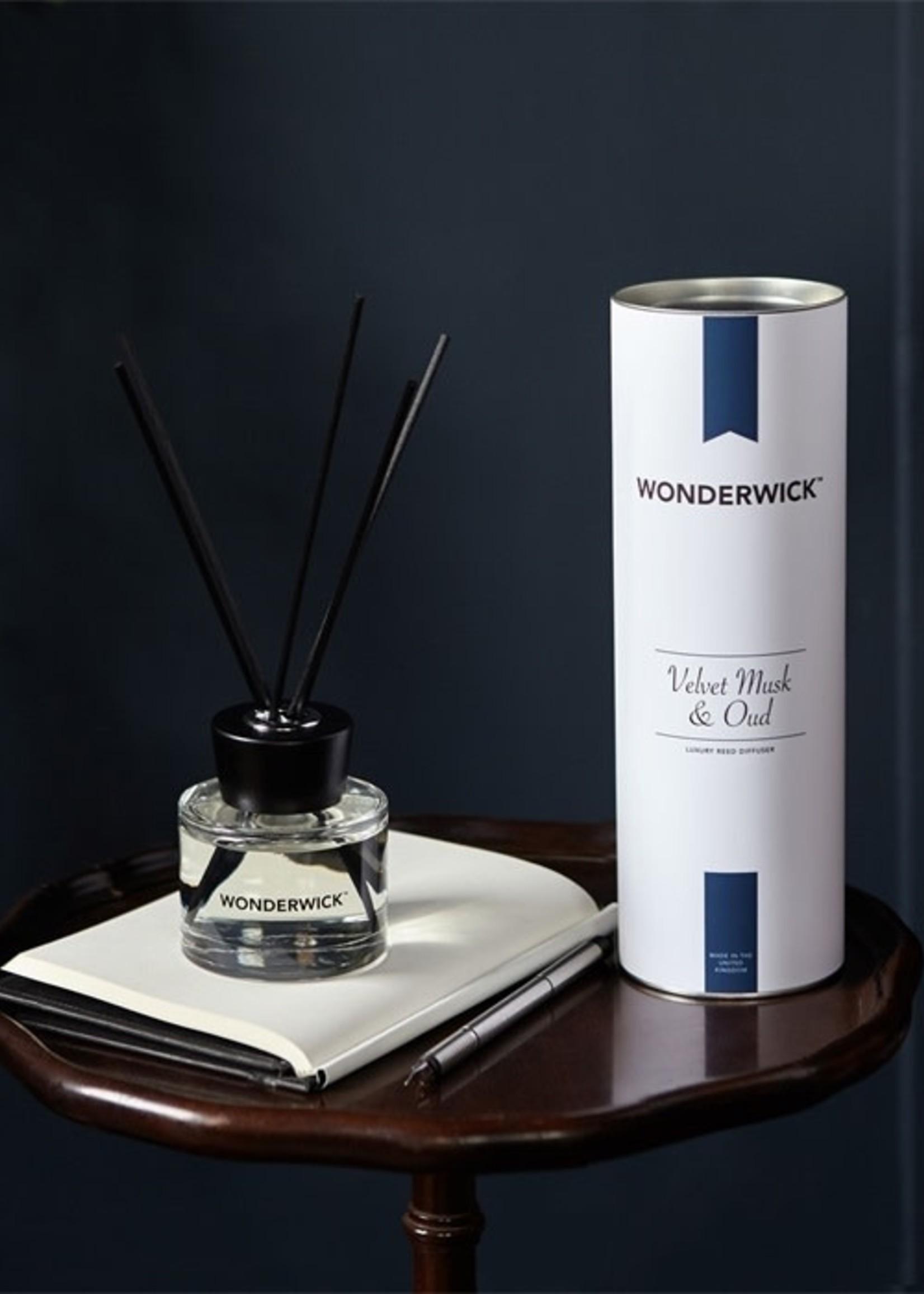 Velvet Musk & Oud diffuser blanc