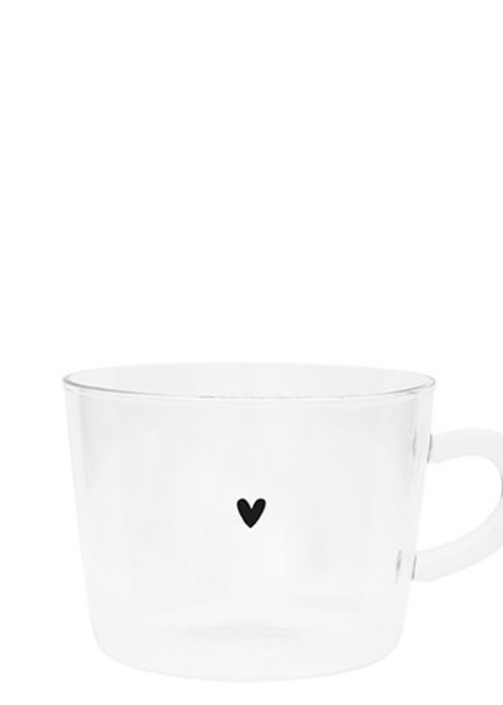 BASTION COLLECTIONS Thee glazen Heart 10x7cm