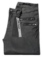 Lexxury jeans waxlook donker grijs