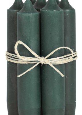 IB LAURSEN Korte kaarsen moss green 4171-41