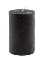 Blokkaars rustiek zwart 7x13,5cm