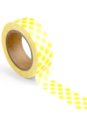 WOWGOODS Tape Honeycomb Yellow