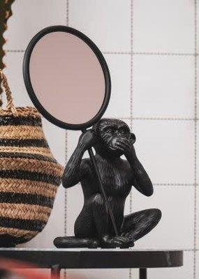 Monkey mirror black