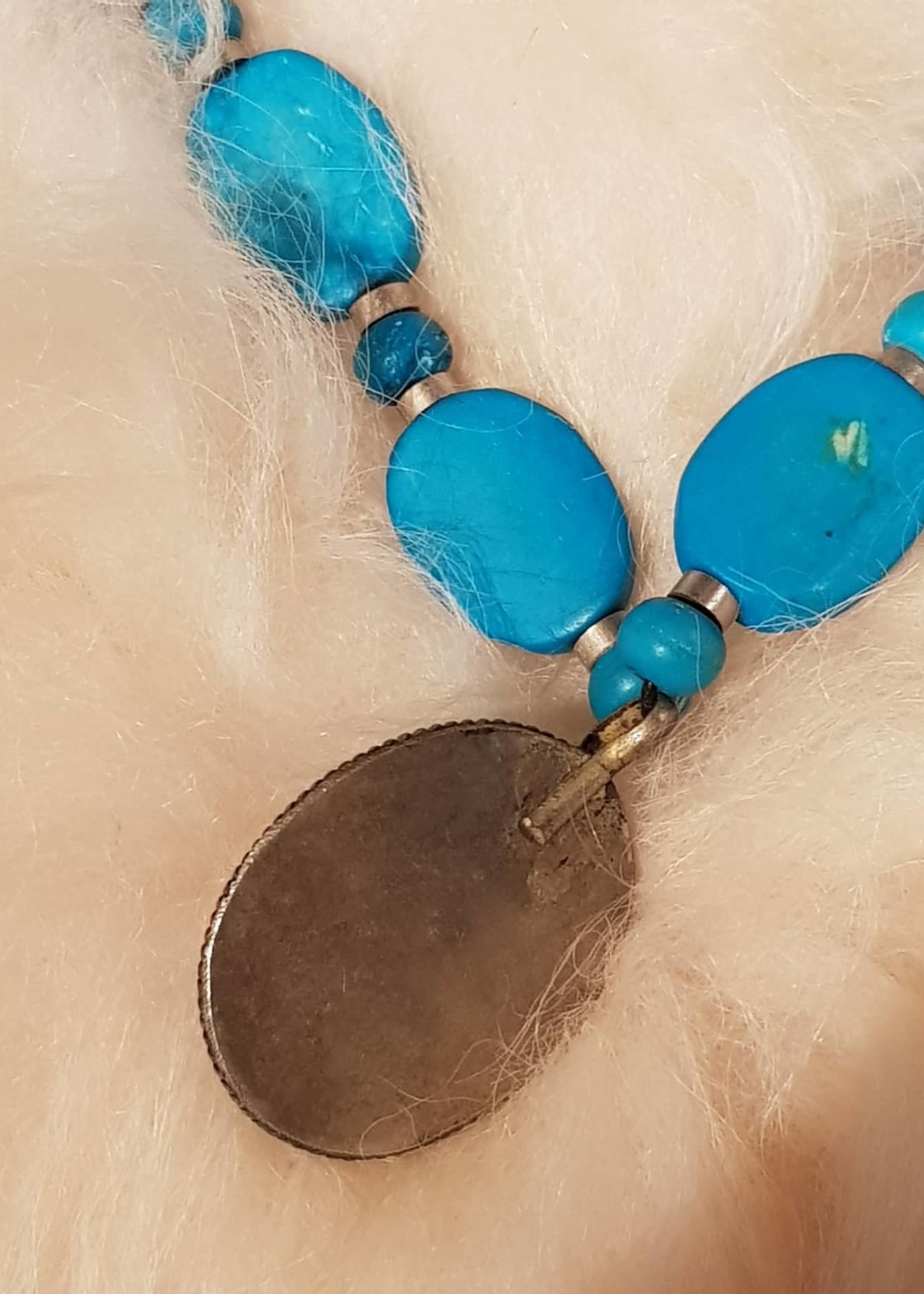 ketting  turquoise