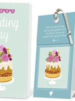 FLOWERCARDS Geurwenskaart Wedding Day