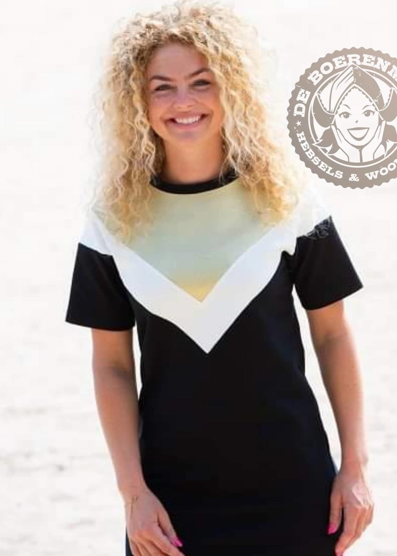 MOOI VROLIJK Dress color Block 21057