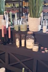 candle tube groen