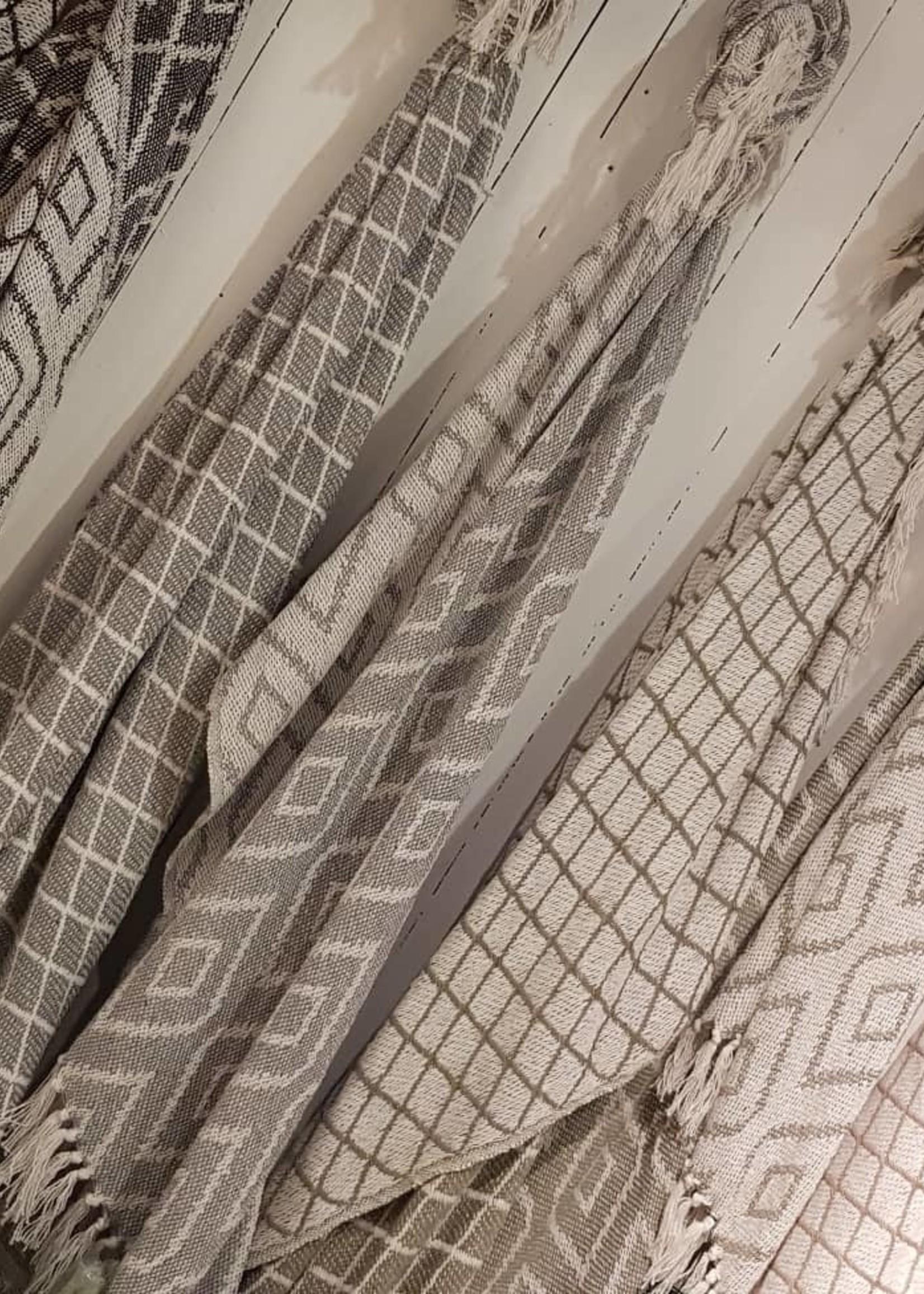 Plaid Imola grey 185x120cm
