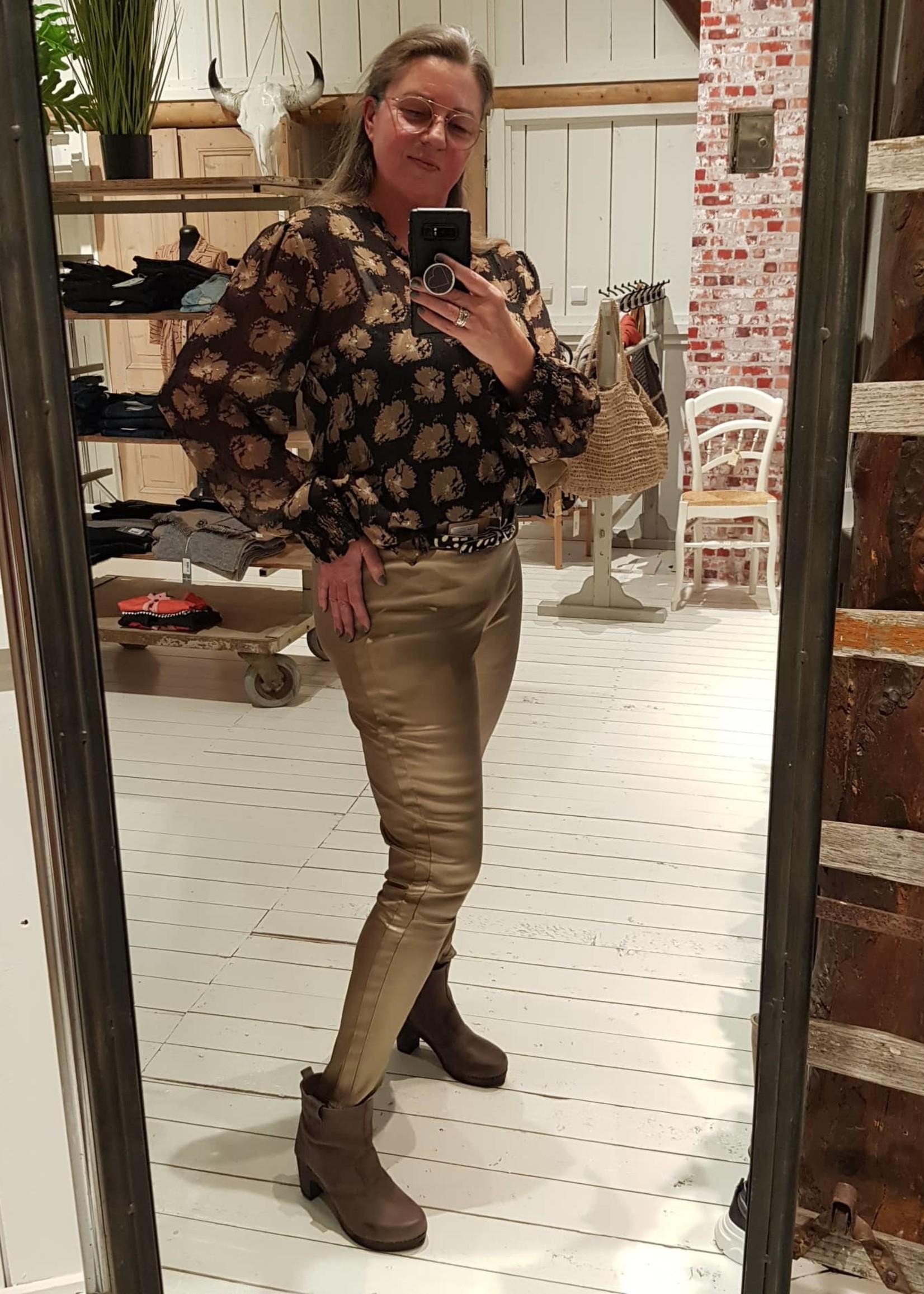 COSTAMANI broek/legging nep leer