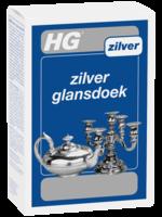 Zilver glansdoek