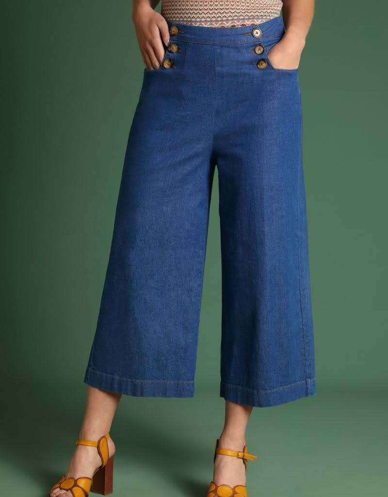 KING LOUIE Sheila pant Chambray