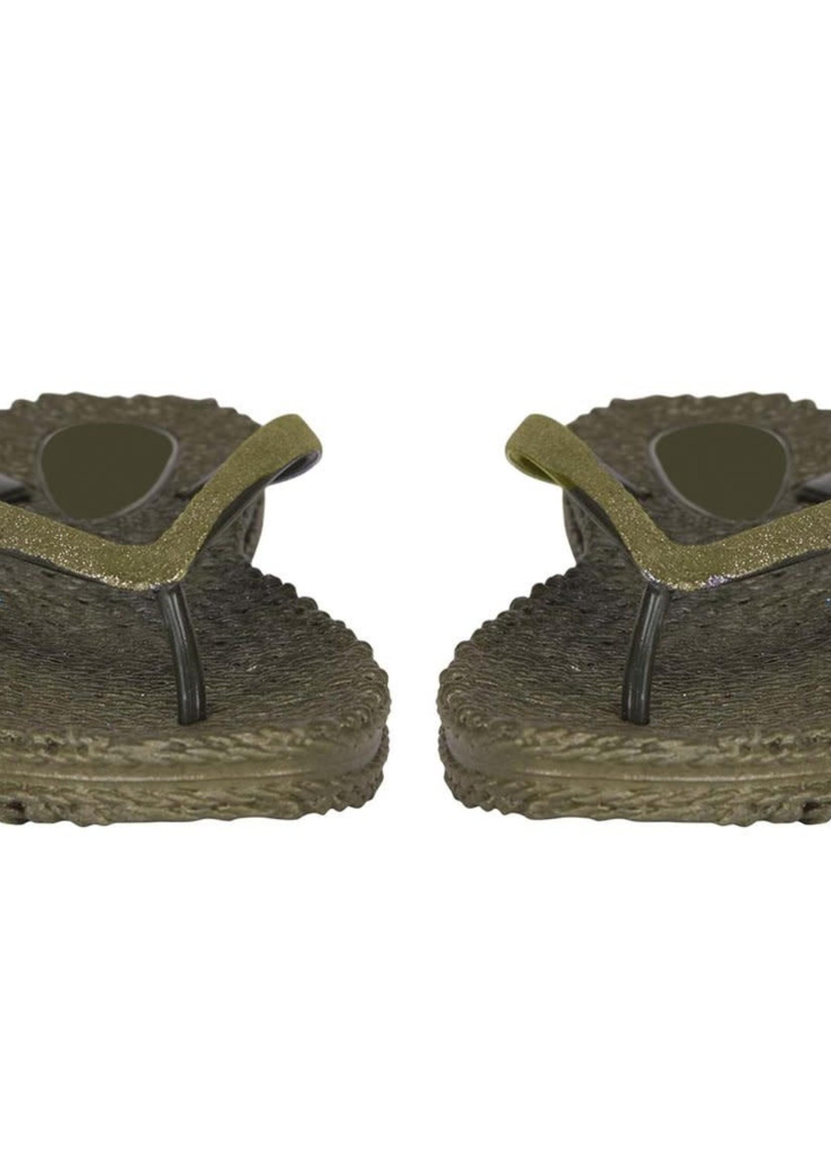 ILSE JACOBSEN Flip Flops Glitters Army