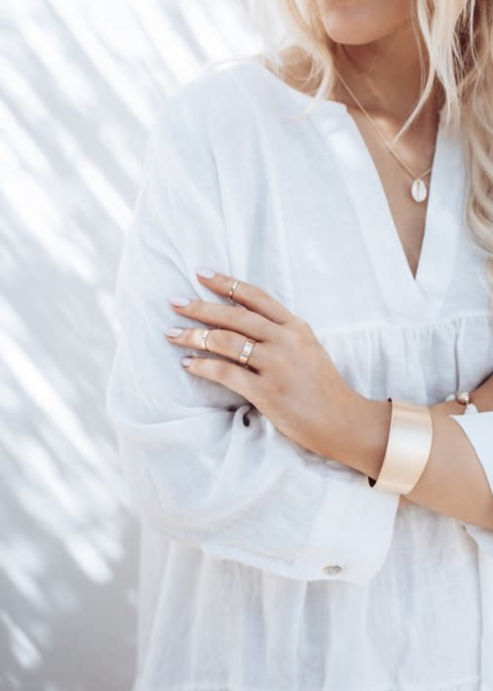 BYPIAS RIANNA LINEN DRESS, OFF WHITE