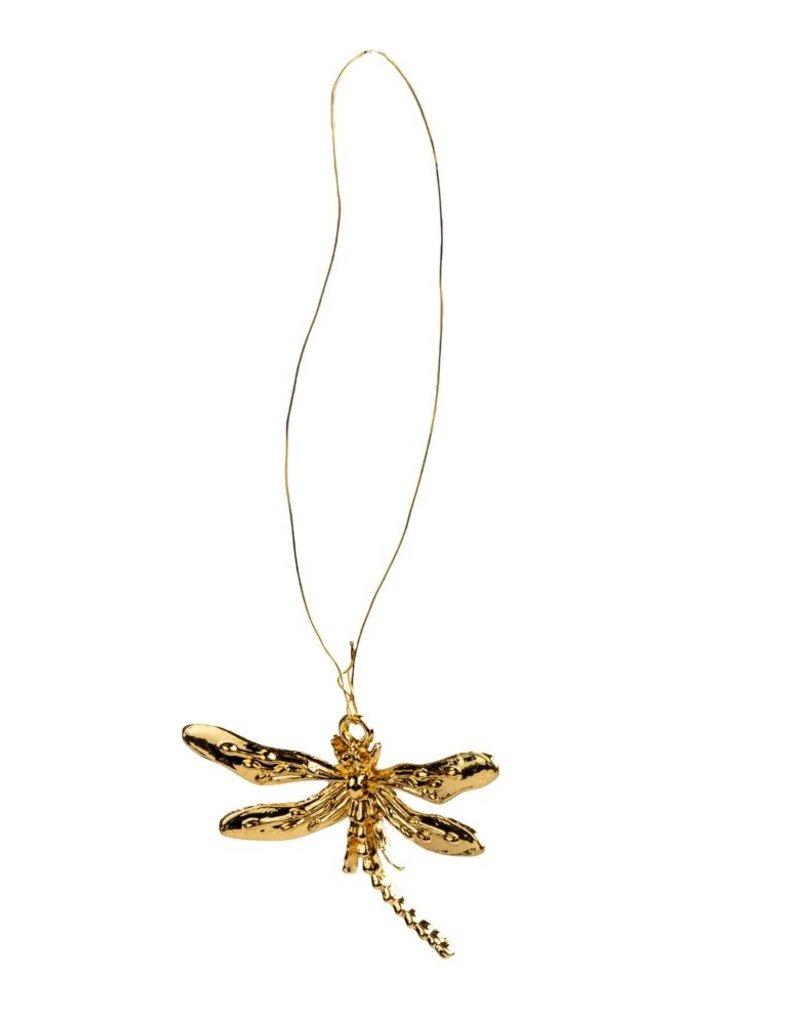 Deco dragonfly goud