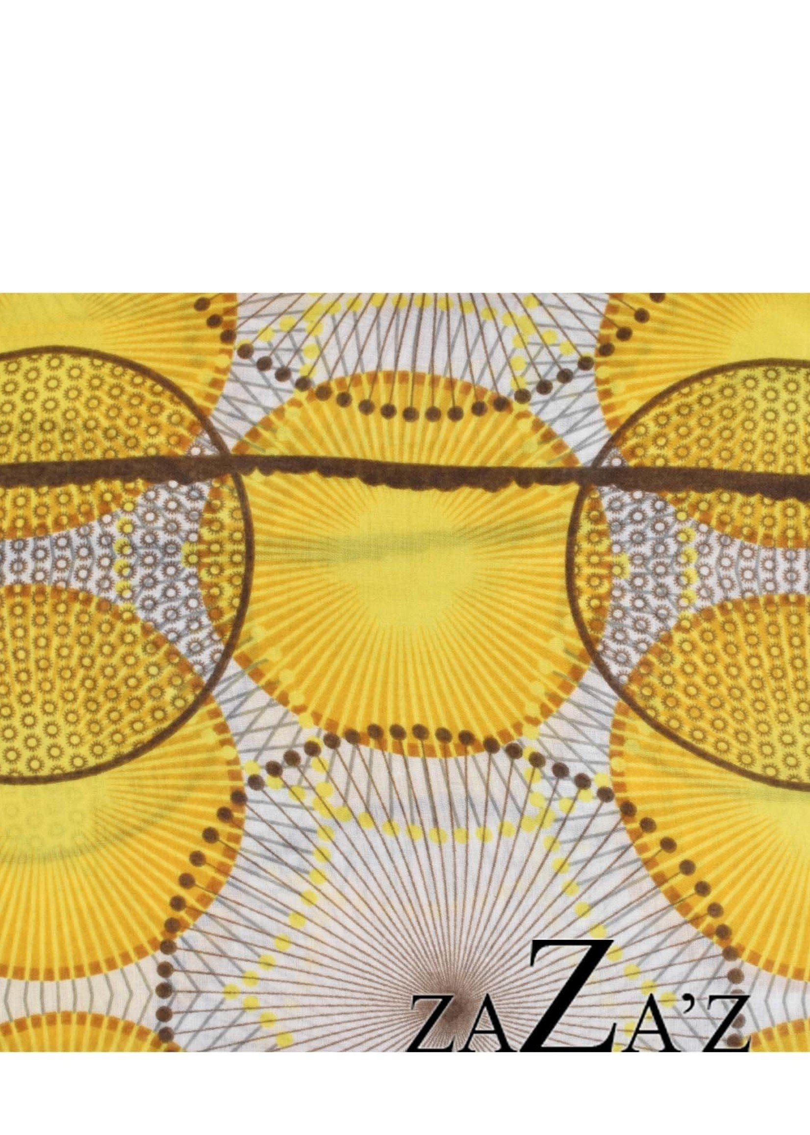 Sjaal met diverse cirkels