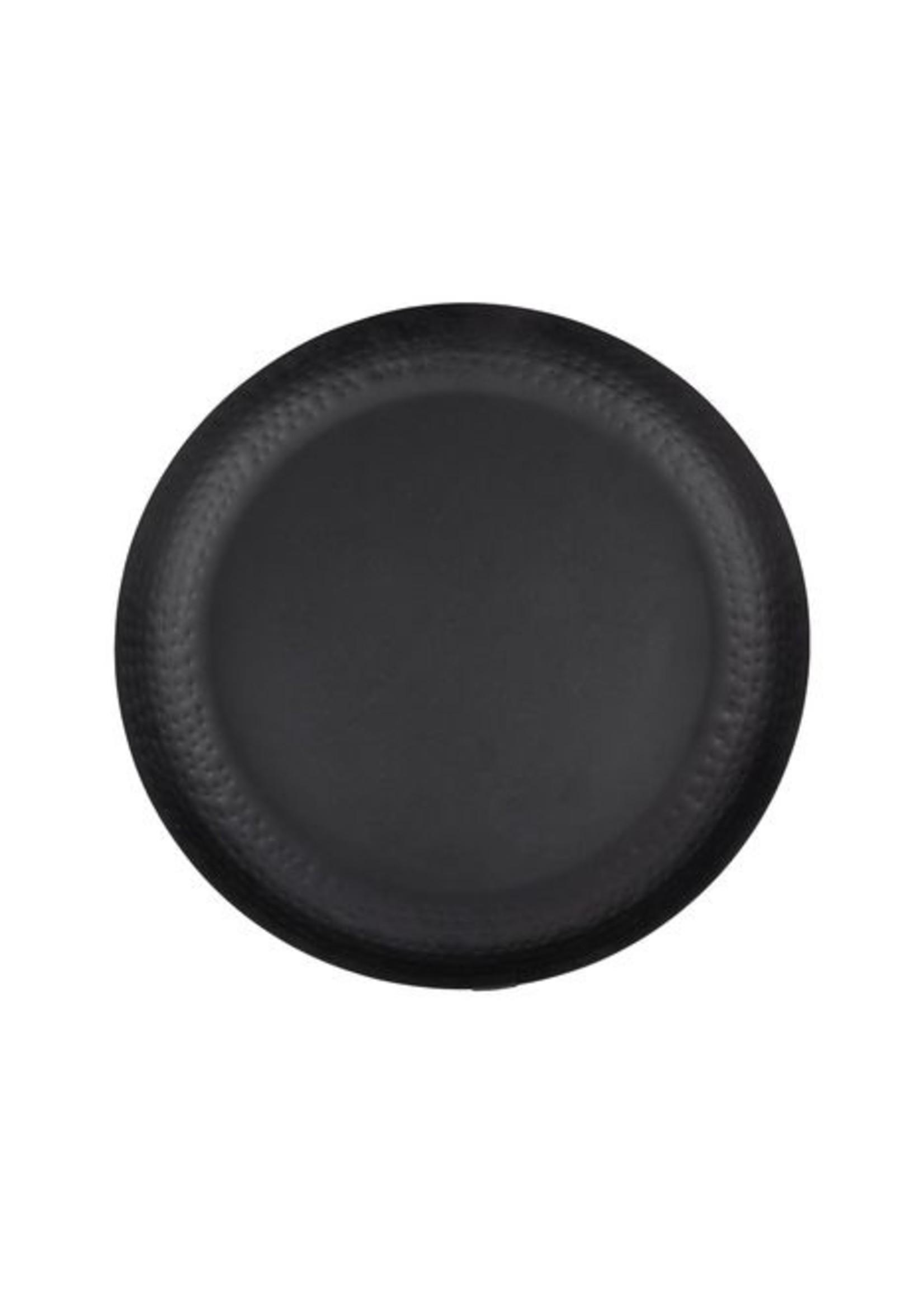 ZUSSS Stylingbord metaal zwart 30cm