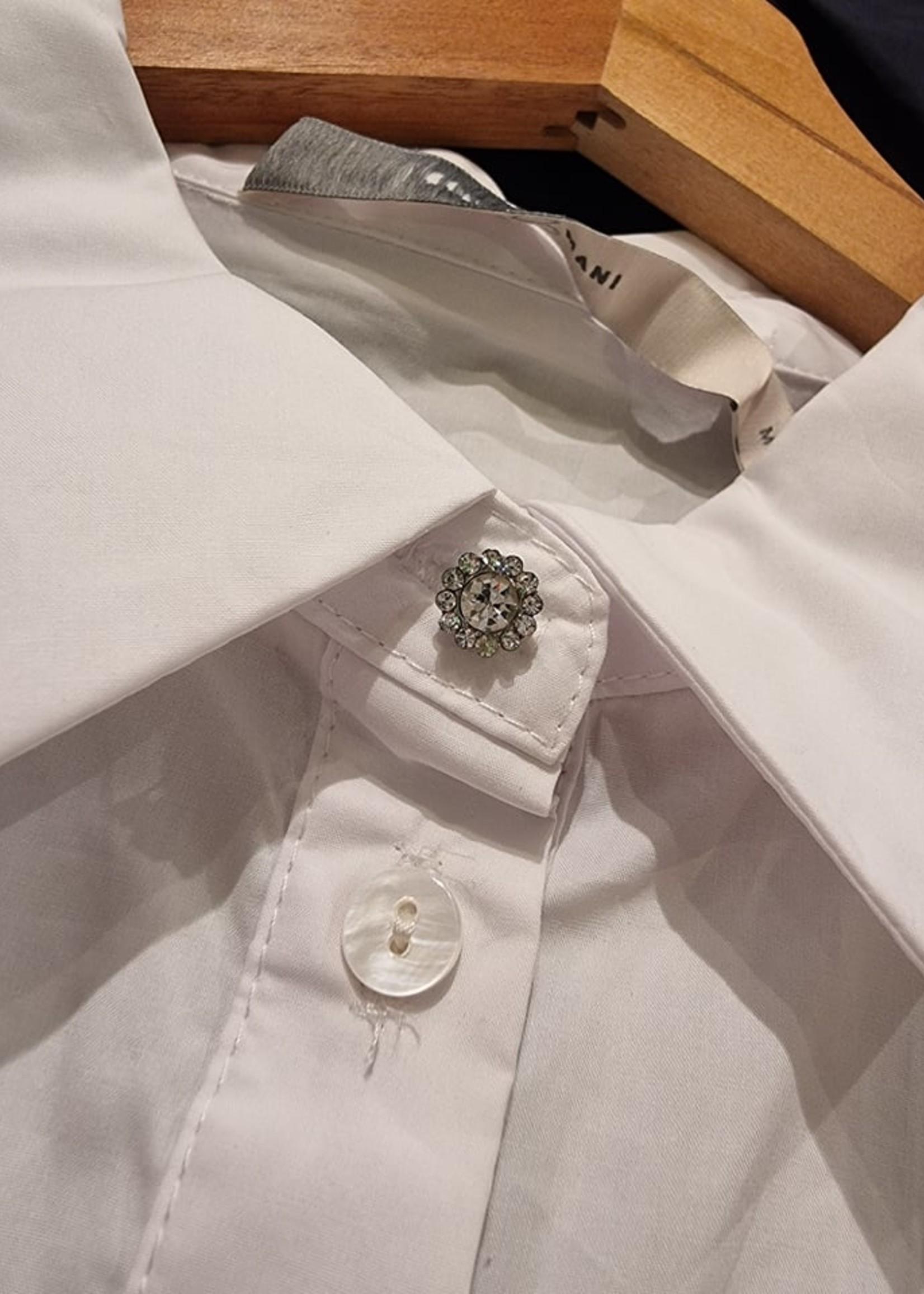 COSTAMANI Shirt Nora White  Laatste - Maat M