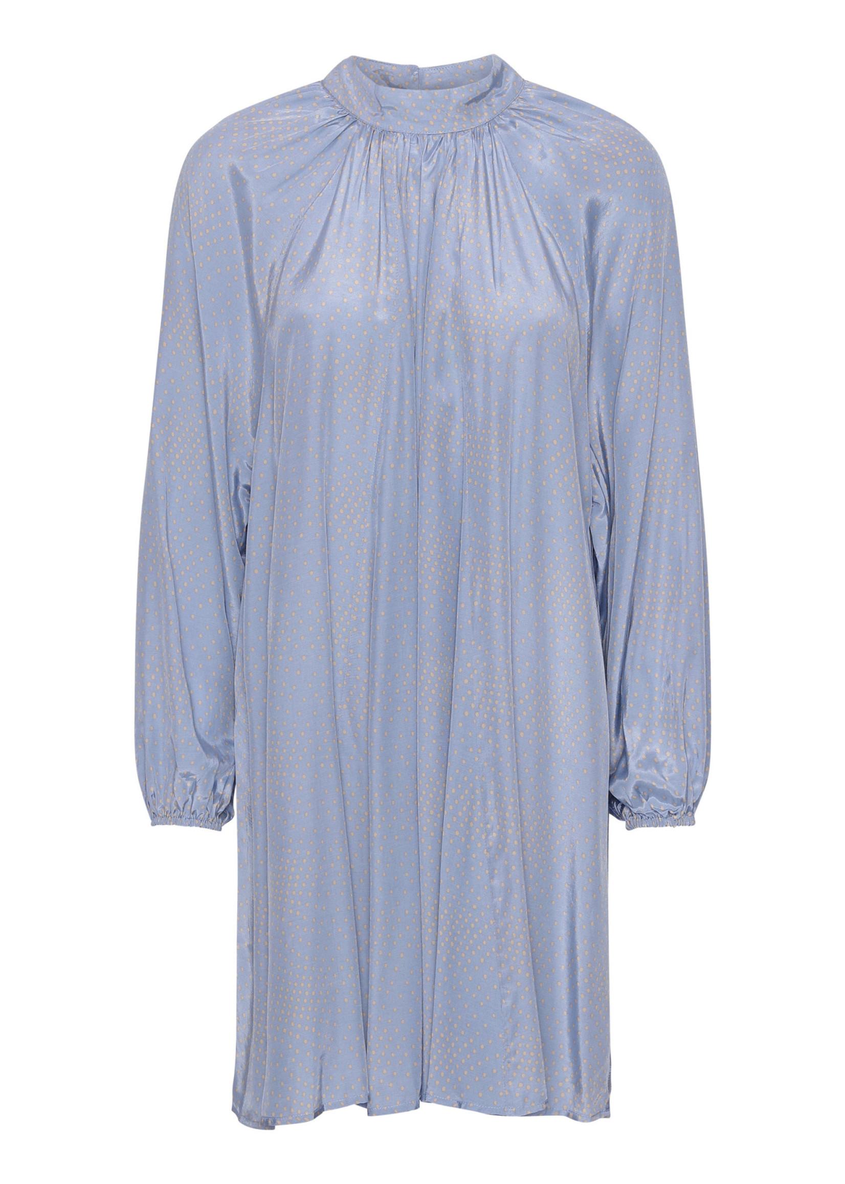 COSTAMANI Cirkeline dress blue - laatste maat L