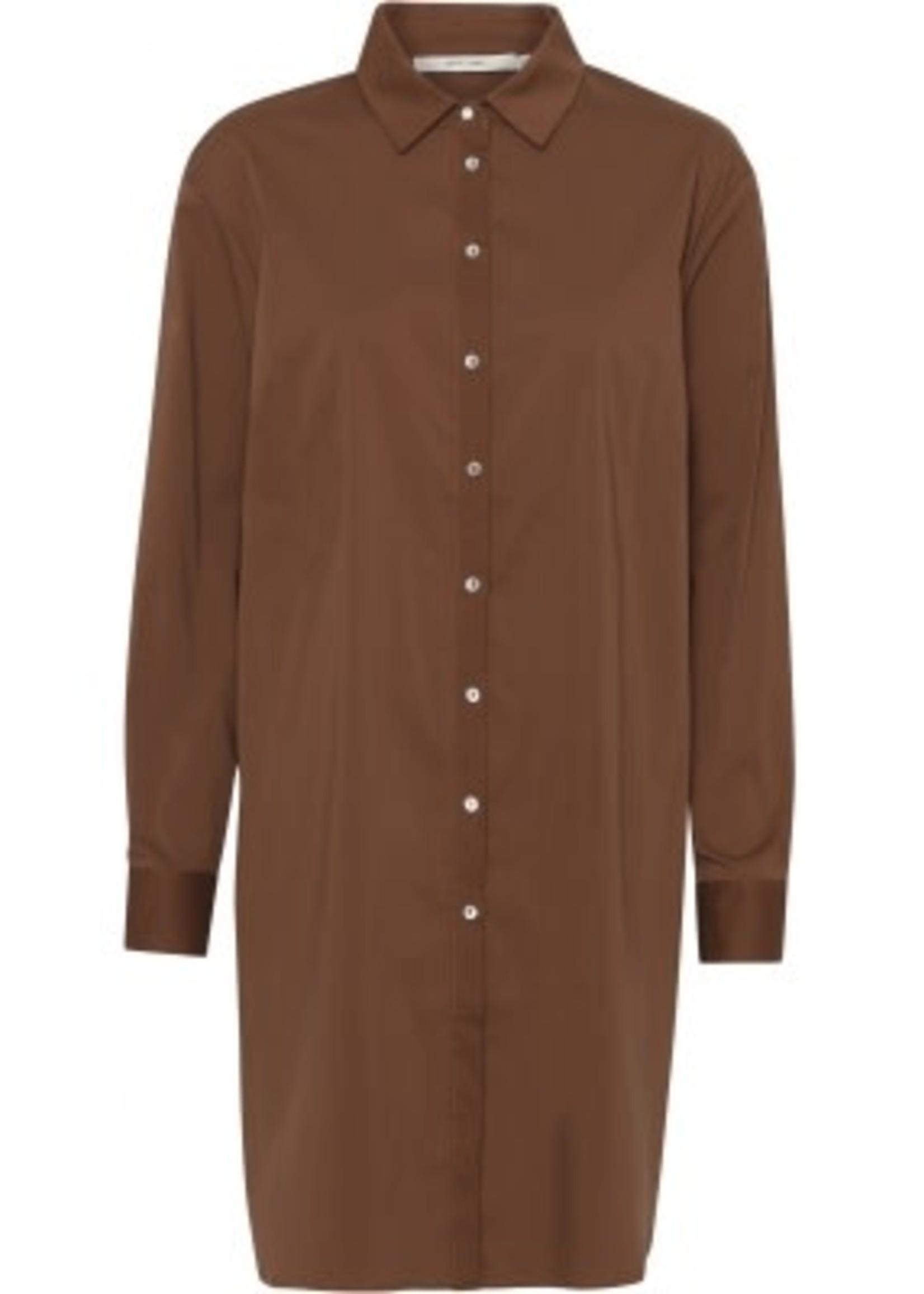 COSTAMANI Nora oversize shirt roest laatste maat M
