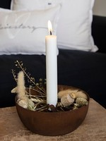 BASTION COLLECTIONS Candle Bowl little hearts