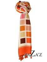 sjaal vierkantjes
