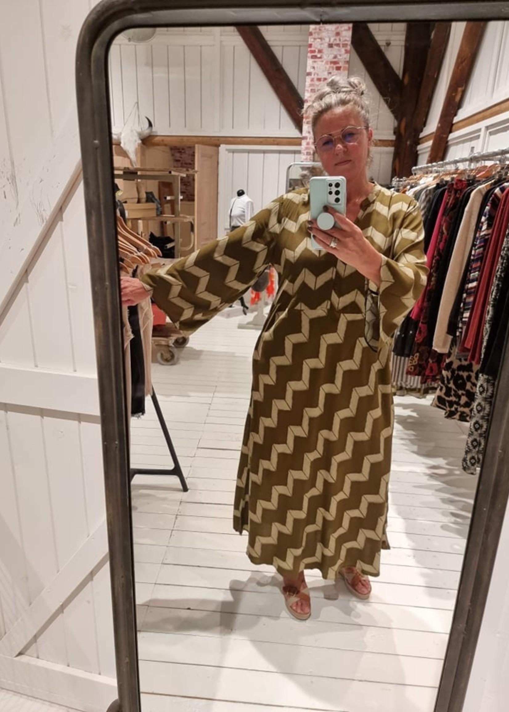 COSTAMANI Dress Paff groen