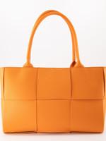 Leren tas Sharon orange