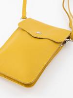 Pona geel schoudertasje