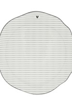 BASTION COLLECTIONS Breakfast plate stripe 23cm