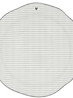 BASTION COLLECTIONS Dinner plate stripes black 27cm