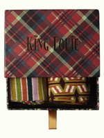 KING LOUIE Giftbox socks chatham maat 39-42