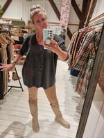 HENRIETTE STEFFENSEN sweater V-neck softblack