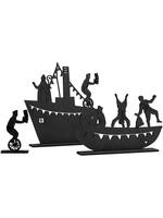 Stoomboot met Sint en Piet