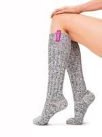 SOXS Woman Bubble gum grey knee 37-41