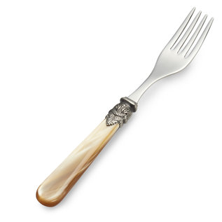 EME Napoleon Dinner Fork Honey with Mother of Pearl