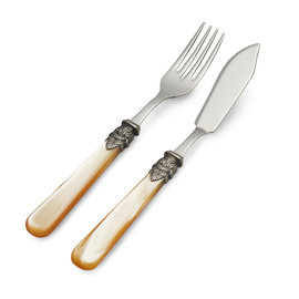 EME Napoleon Fish Cutlery Set Honey