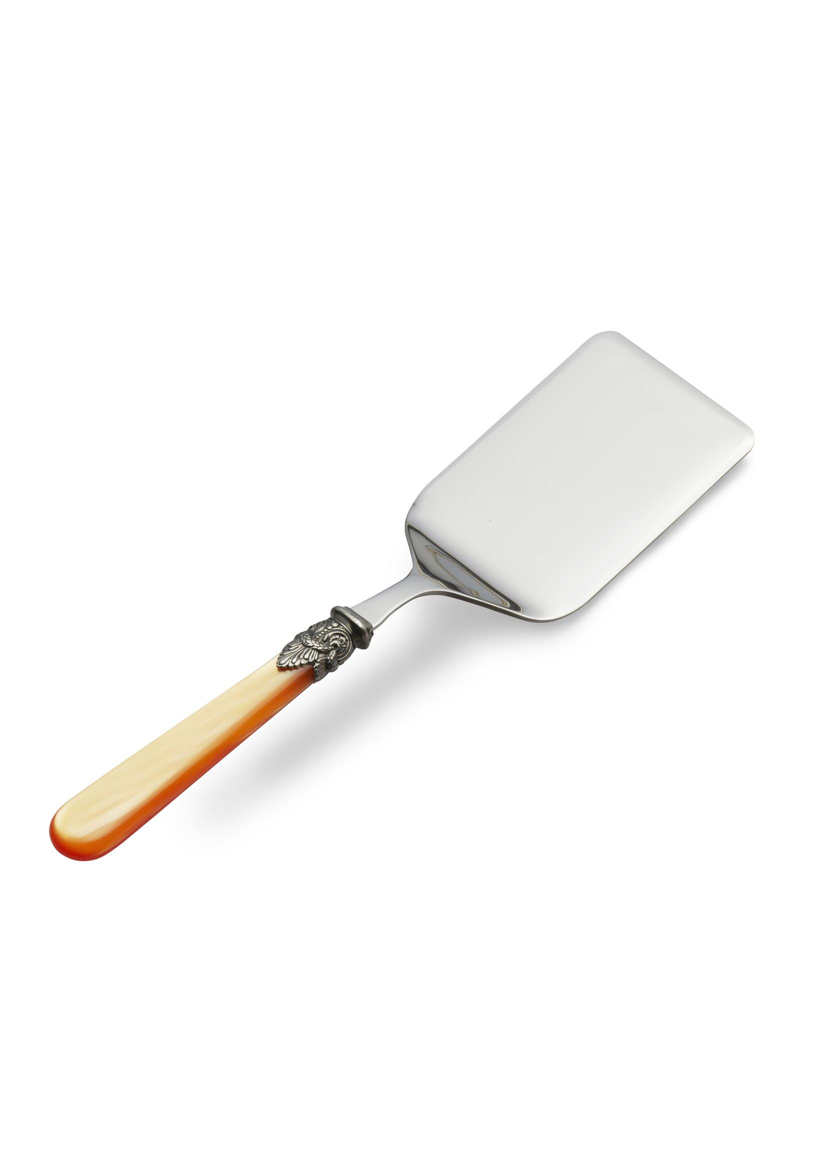 EME Napoleon Pala de lasaña /  Cuchara para servir lasaña, Naranja  con Nácar