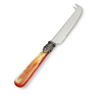 EME Napoleon Cuchillo para Queso Naranja con Nácar