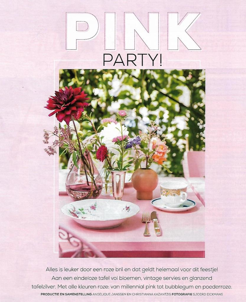Libelle's Pink Party