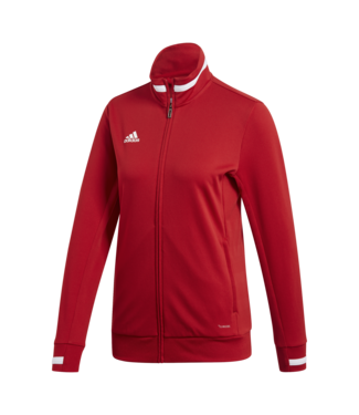 Adidas T19 TRACK JACKET WOMEN RED