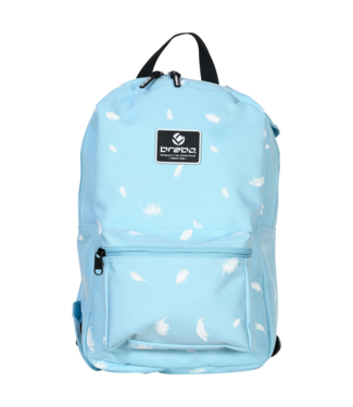 Brabo BACKPACK STORM FEATHERS L.BLUE