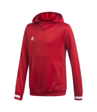 Adidas T19 HOODY YOUTH RED