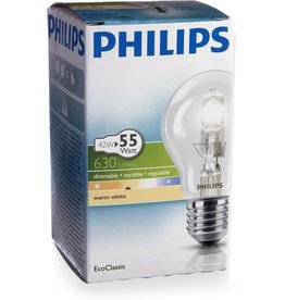 PHILIPS Philips EcoClassic standard 42W E27 230V A55 CL