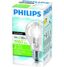 PHILIPS Philips EcoClassic standard 105W E27 230V A55 CL