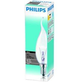 PHILIPS Philips gloeilamp kaars bended tip 40W E14 230V BX