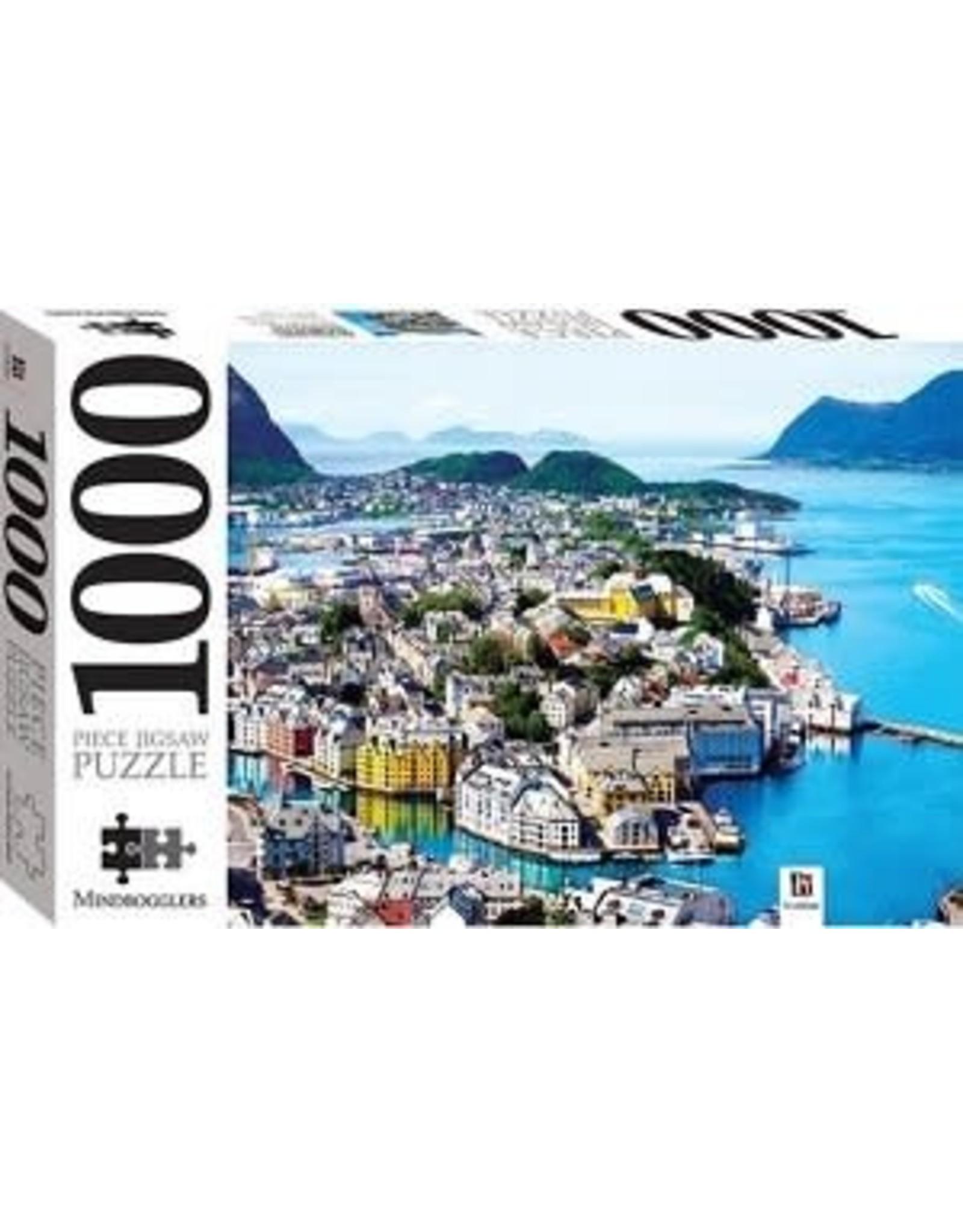 Alesund Noorwegen - 1000 stukjes