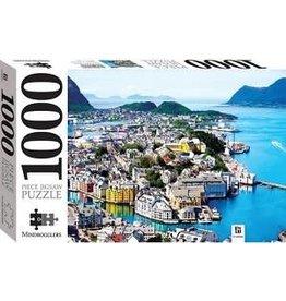 JIGSAW Alesund Noorwegen - 1000 stukjes